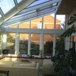 Inside Sloping Conservatory