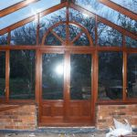 Internal Hardwood Conservatory Build